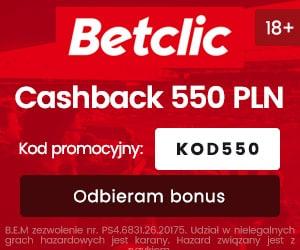 betclic polska cashback